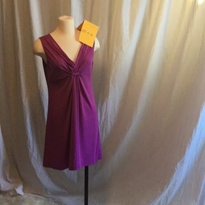 Light purple sleeveless dress in size large L8TER